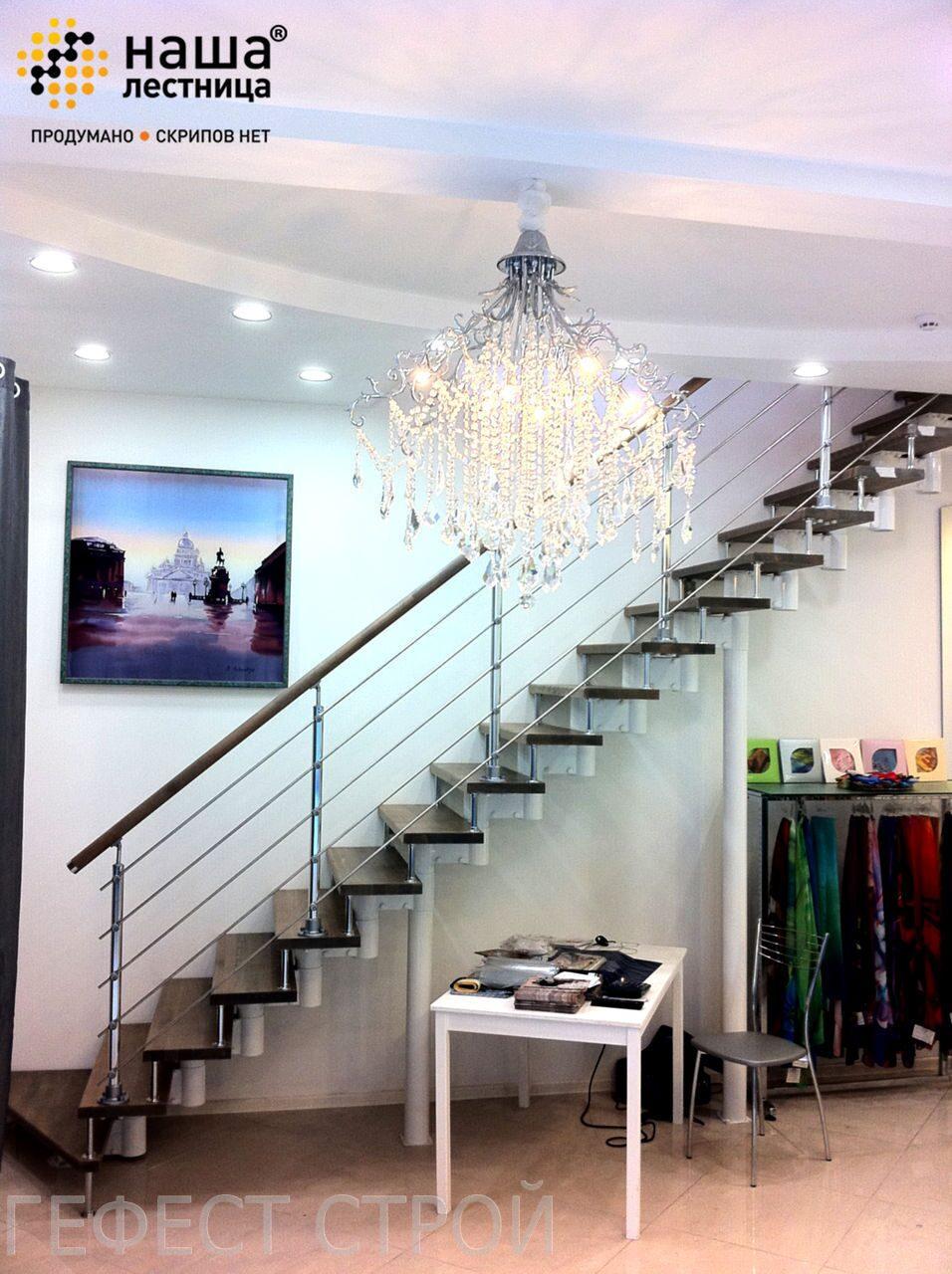 Лестницы прямые